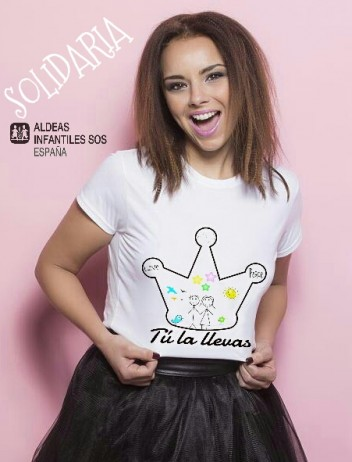 camiseta solidaria by chenoa