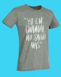 Camiseta by chenoa yo en chandal no salgo mas